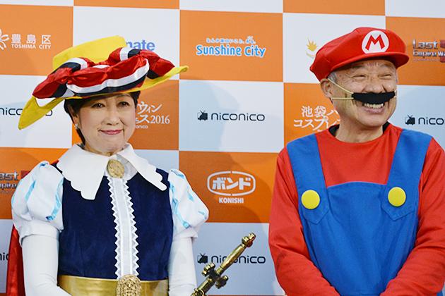 小池百合子東京都知事もコスプレ!「池袋ハロウィンコスプレフェス 2016」が開催!