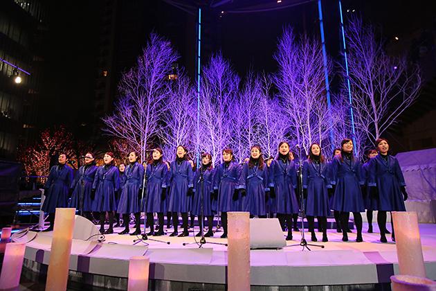 六本木ヒルズのクリスマスコンサート2016