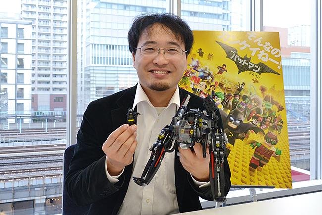 2017年4月1日(土)「レゴ®バットマン ザ・ムービー」全国公開記念!レゴ認定プロビルダー 三井淳平さんインタビュー!