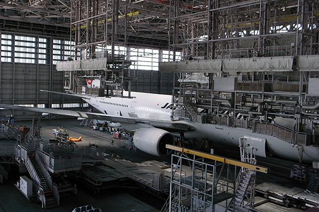 子供たちが大好きな飛行機がよくわかる!「JAL工場見学 SKY MUSEUM」に行ってきた!