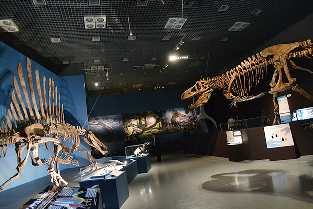子供たちに大人気!史上最大の肉食恐竜スピノサウルスとティラノサウルスが夢の競演!「恐竜博 2016」に行ってきた!