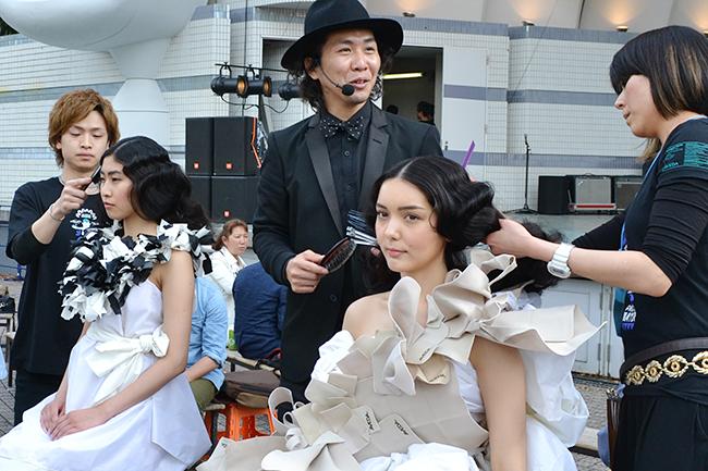 アースデイ東京2016で「アヴェダ」が日本初のゴミとファッションを融合したショーを披露!アヴェダ「CATWALK for WATER」(キャットウォーク・フォー・ウォーター)開催!