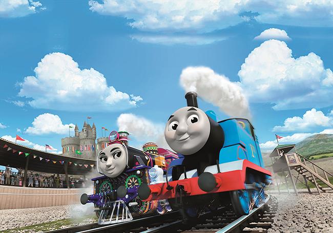 子供たちに大人気「きかんしゃトーマス」の劇場版が2017年4月8日(土)全国ロードショー!映画 きかんしゃトーマス 走れ!世界のなかまたち