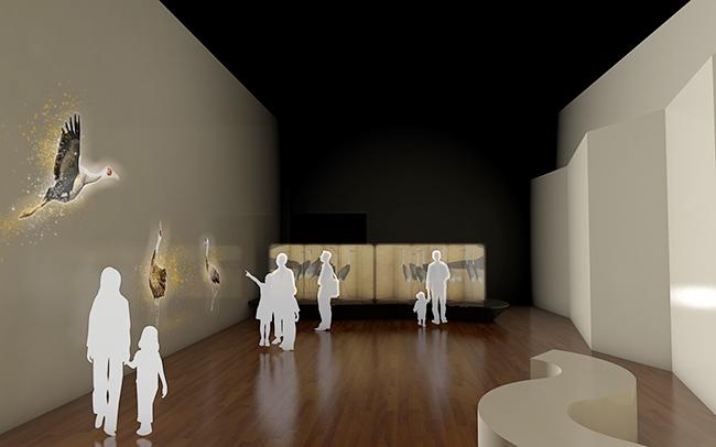 親子で楽しむ屏風の世界に入りこむ体感型展示「びょうぶとあそぶ 〜高精細複製によるあたらしい日本美術体験〜」