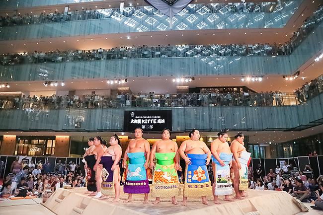 「宝塚」と「相撲」、子供も楽しめる日本を代表するエンターテインメントと文化を体感!KITTEの夏イベント
