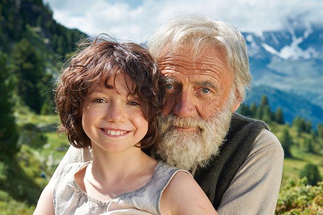 子供たちに大人気、あのハイジが実写映画化! 2017年8月全国公開! ハイジ アルプスの物語