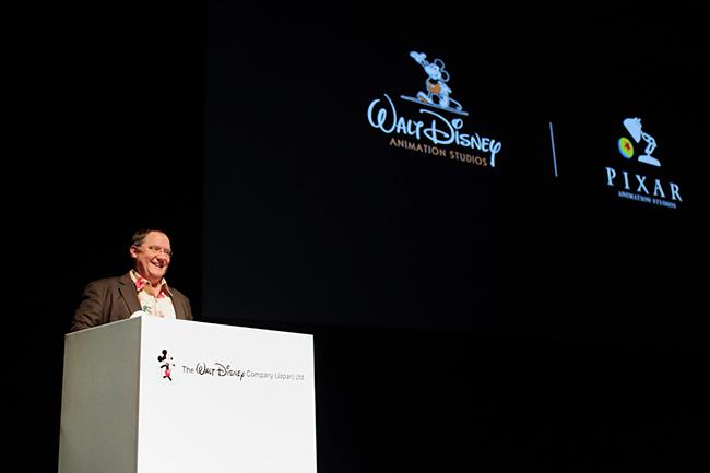 子供たちが大好きなディズニー、ピクサー映画、ジョン・ラセター氏が「アナと雪の女王」に続くディズニー&ピクサーの新作アニメを一挙発表!