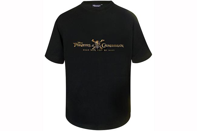 映画「パイレーツ・オブ・カリビアン/最後の海賊」オリジナルTシャツプレゼント!