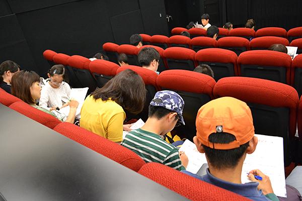 子供たちに大人気!マーベル最新作『アントマン』キッズイベント独占親子試写会開催!さくさんの親子から映画の感想いただきました!