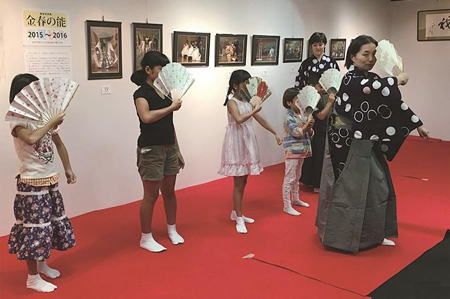 子供たちが「能楽」の世界を気軽に体験!子ども向け能体験『能楽講座』が2017年8月1日(火)〜6日(日)に開催!