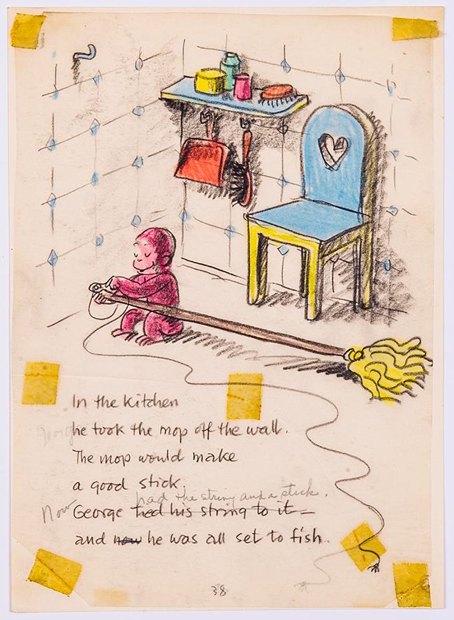 子どもたちが大好きな「おさるのジョージ」の展覧会!日本初公開の原画やスケッチなど約200点が一堂に!おさるのジョージ展
