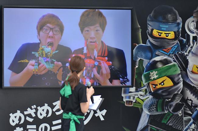 HIKAKIN(ヒカキン)さん、SEIKIN(セイキン)さんと一緒に子供たちもニンジャ修行に挑戦!レゴ ニンジャゴー「ニンジャ チャレンジ」イベントが開催!