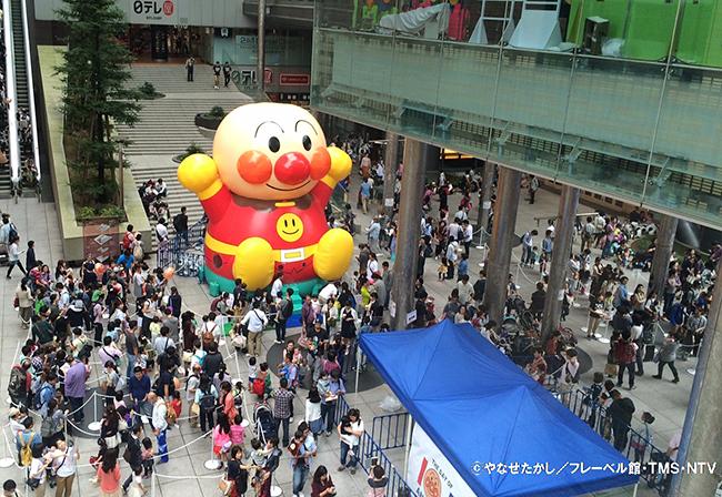 子供たちが大好き!アンパンマンのステージと フェスティバルが同時開催!それいけ!アンパンマン わくわくステージ
