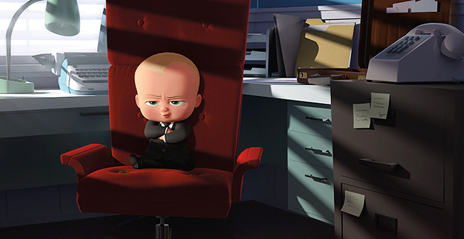 見た目は赤ちゃん、中身はおっさん!? 2018年春 全国公開!ユニバーサル・スタジオとドリームワークス・アニメーション初のコラボ映画『ボス・ベイビー』