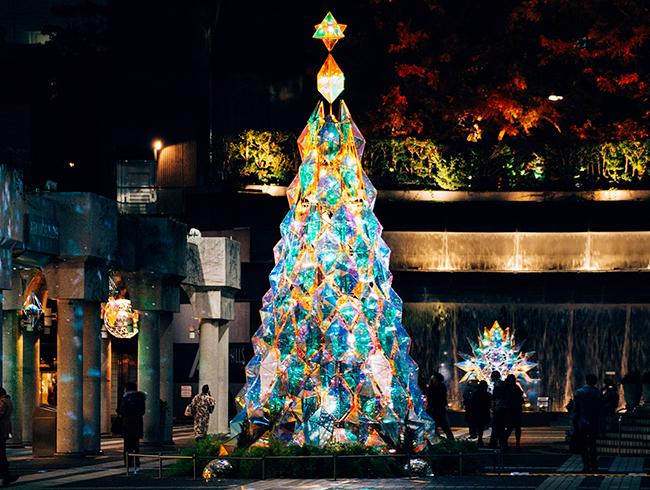 子供と楽しむクリスマス!イルミネーションにクリスマス限定ワークショップ、マルシェ&蚤の市も!2017年11月17日(金)〜12月25日(月)まで開催!アークヒルズクリスマス2017 〜Light of mine〜