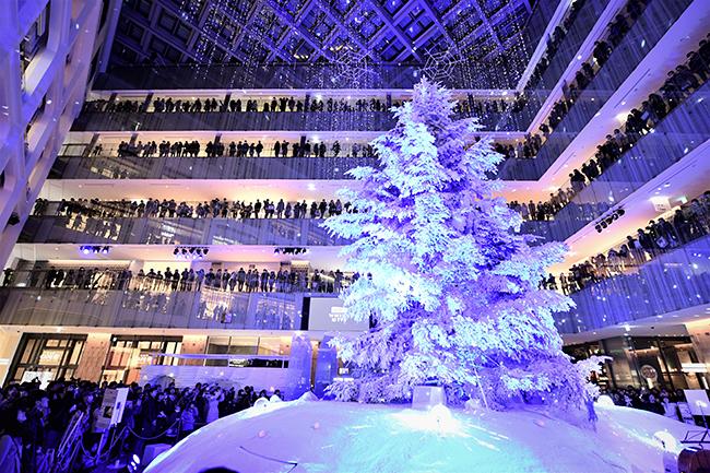 子供と一緒にホワイトクリスマス!丸の内恒例のクリスマスイベント「WHITE KITTE」が2017年11月22日(水)〜12月25日(月)に開催!