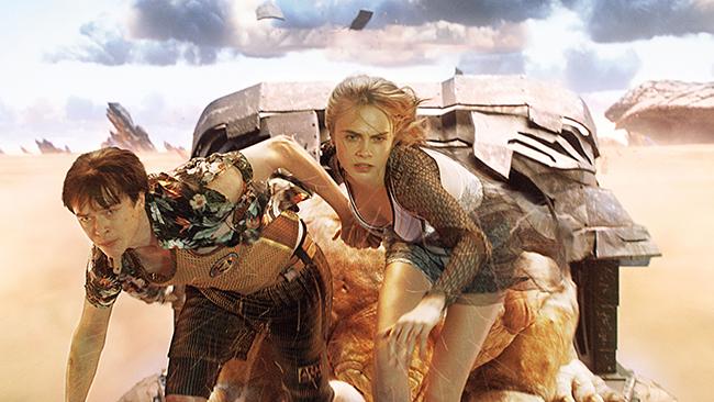 『スター・ウォーズ』にも影響を与えたSFコミックの金字塔「ヴァレリアンとローレリーヌ」をリュック・ベッソン監督が映画化!子供たちも楽しめる28世紀の宇宙を舞台にしたSFエンターテインメント超大作「ヴァレリアン 千の惑星の救世主」が2018年3月全国ロードショー!