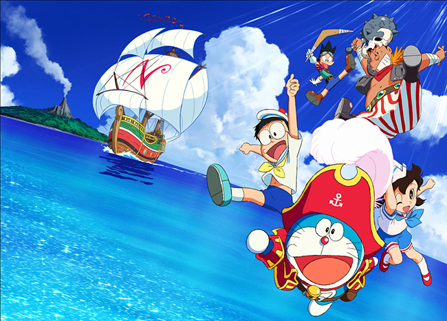 子供たちが大好き、映画ドラえもんの最新作!シリーズ38作目『映画ドラえもん のび太の宝島』が2018年3月3日(土)に全国公開!『映画ドラえもん のび太の宝島』の作品紹介、宝島を巡ってドラえもんたちが大冒険を繰り広げる!