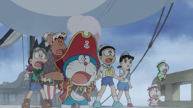 映画作品紹介、子供たちが大好き、映画ドラえもんの最新作!シリーズ38作目『映画ドラえもん のび太の宝島』が2018年3月3日(土)に全国公開!宝島を巡ってドラえもんたちが大冒険を繰り広げる!
