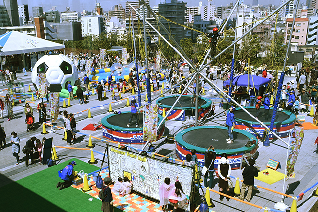 東京スカイツリーに子供向けアミューズメントパークがオープン!「春休み! ソラマチわくわくパーク」が2018年3月17日(土)〜4月8日(日)まで開催!