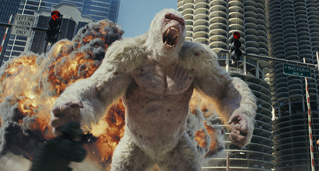 ドウェイン・ジョンソンの主演最新作「ランペイジ 巨獣大乱闘」が2018年5月18日(金)より全国公開!「ランペイジ 巨獣大乱闘」の作品紹介・予告編動画