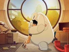 "BIG HERO 6 - ""Baymax Returns"" - Set in the fictional city of San Fransokyo, 14-year-old tech genius Hiro begins school as the new prodigy at San Fransokyo Institute of Technology and sets off to rebuild Baymax. However, his overconfidence and penchant for taking shortcuts leads him and the newly minted Big Hero 6 team ミ Wasabi, Honey Lemon, Go Go and Fred ミ into trouble. The one-hour premiere airs Monday, November 20 (8:00 - 9:00 P.M. EDT) on Disney XD. (Disney XD) HIRO HAMADA, BAYMAX"