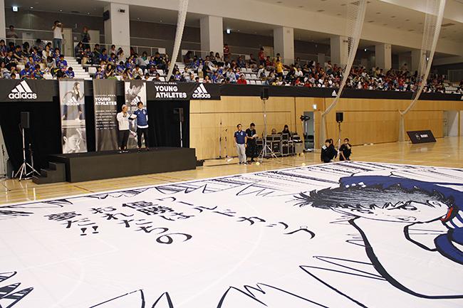子供たちがさまざまなスポーツに挑戦するアディダスの参加型スポーツイベント「YOUNG ATHLETES CHALLENGE 2018」が開催!伊達公子さん、五郎丸歩さん、中田浩二さん、渡邉拓馬さんが子供たちをコーチ、漫画『キャプテン翼』の作者・高橋陽一先生も登場!
