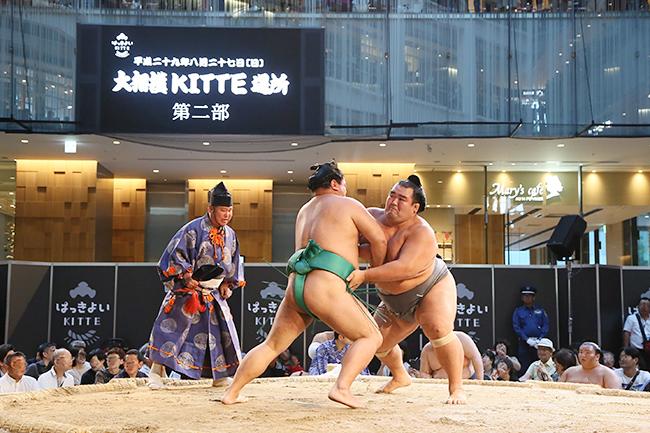 開業5周年「KITTEの夏イベント2018」が8月4日(土)〜26日(日)に開催!宝塚の「『歌劇』創刊100th Anniversary in KITTE」、相撲の「はっきよいKITTE」で子供も大人も楽しめます!