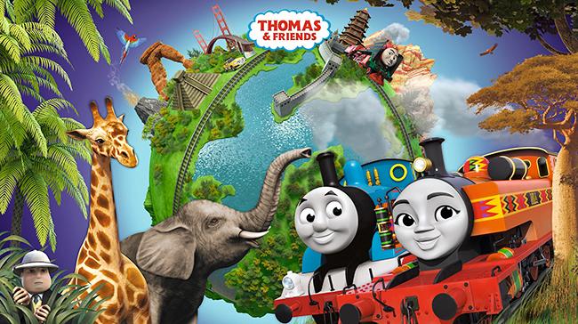 世界中の子供たちに大人気の「きかんしゃトーマス」。2017年に公開した『映画 きかんしゃトーマス とびだせ!友情の大冒険』の大ヒットから1年、劇場版最新作『映画 きかんしゃトーマス Go!Go!地球まるごとアドベンチャー』が2019年4月5日(金)全国公開!