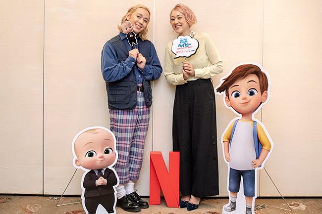 Netflix(ネットフリックス)は2018年10月12日(金)から『ボス・ベイビー: ビジネスは赤ちゃんにおまかせ!』シーズン2の全世界独占配信を開始!子育て奮闘中のSHELLEY(シェリー)さんとりゅうちぇるさんにインタビュー、『ボス・ベイビー』の魅力、見どころ、子育ての話をお伺いしました!
