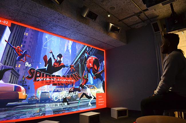 子供と一緒に楽しめる!映画『スパイダーマン:スパイダーバース』の公開を記念して、その世界観を体感できる「The『スパイダーマン:スパイダーバース』Experience」が、2019年1月31日(木)より渋谷モディ1階のソニースクエア渋谷プロジェクトで開催中!