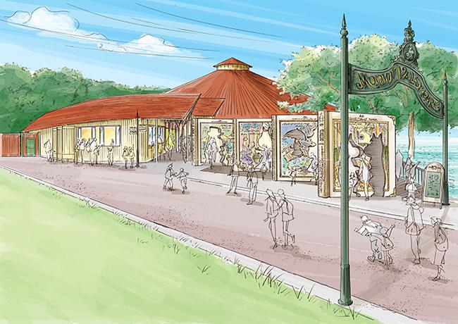 ムーミンの物語をテーマとした施設「ムーミンバレーパーク」が、2019年3月16日(土)、埼玉県宮沢湖畔にオープン!原作者トーベ・ヤンソンの想いを感じることができる施設や、子供たちが自然のなかで思い切り遊ぶことができるアスレチックやツリーハウスも!
