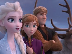 """From the Academy Award®-winning team—directors Jennifer Lee and Chris Buck, and producer Peter Del Vecho—and featuring the voices of Idina Menzel, Kristen Bell, Jonathan Groff and Josh Gad, and the music of Oscar®-winning songwriters Kristen Anderson-Lopez and Robert Lopez, Walt Disney Animation Studios' """"Frozen 2"""" opens in U.S. theaters on Nov. 22, 2019.   ©2019 Disney. All Rights Reserved."""