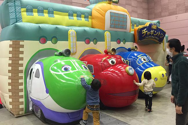 子供たちが大好きなイベント!フジテレビ系列で好評放送中のアニメーション『GO!GO!チャギントン』の世界観を体験できるファミリーパーク「チャギントンランド 2019 スプリングフェスティバル」が、2019年4月28日(日)~5月6日(月・祝)まで、品川プリンスホテルで開催!