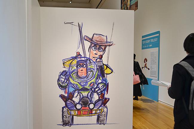 2015年3月5日(土)から5月29日(日)まで東京都現代美術館で「スタジオ設立30周年記念 ピクサー展」が開催!「スタジオ設立30周年記念 ピクサー展」に行ってきた。「トイ・ストーリー」から最新作「アーロと少年」までのドローイングなどを紹介!子供と一緒に楽しめるピクサーの展覧会。