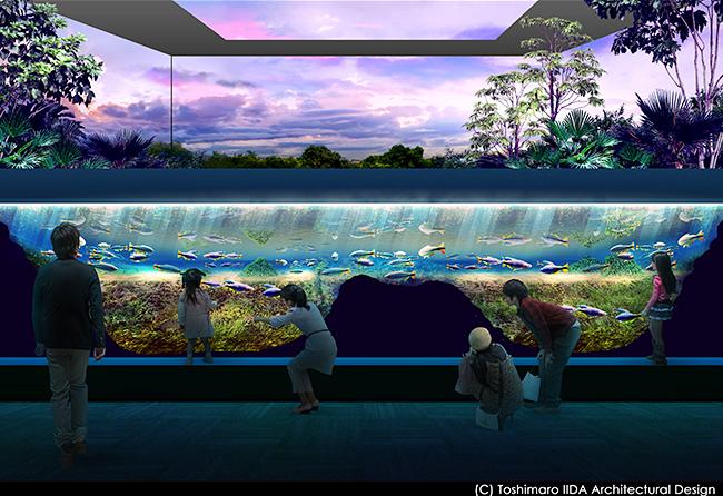 水族館や動植物園の開発を行う株式会社アクア・ライブ・インベストメントは、子供達が大好きな水族館を、2020年夏、JR川崎駅前商業施設「川崎ルフロン」内に水族館を開業!リアルに再現された自然環境の中で水棲生物や動植物と触れ合えるほか、AIやIoT技術を駆使した新しい水族館を提案!