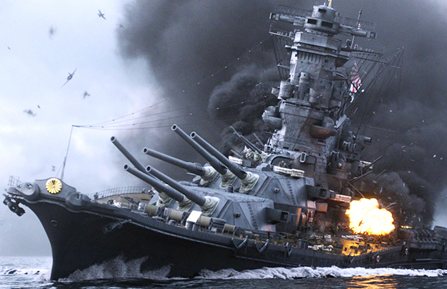 第二次世界大戦を数学者の視点で描く、かつてない漫画『アルキメデスの大戦』が待望の映画化!2019年7月26日(金)全国東宝系にてロードショー!戦艦大和の建造、数学で戦争を止めようとした男の物語。