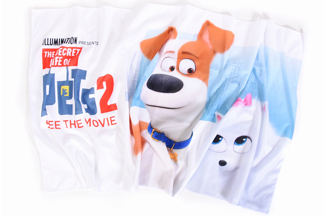 子供たちが大好きな映画『怪盗グルー』シリーズや『ミニオンズ』『SING/シング』を手掛けたイルミネーション・エンタテインメントの大ヒット映画『ペット』待望の続編『ペット2』が、いよいよ2019年7月26日(金)に全国公開!『ペット2』の公開を記念して『ペット2』特製タオルをプレゼント!子供たちの夏休みにぴったり、プールに海にぴったりのプレゼントです!