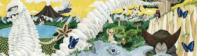 円谷プロダクションが歴代作品に登場した怪獣たちの魅力を届ける新たな世界『かいじゅうのすみか』を発表!2019年8月に空想科学絵本を、11月より東京ドームシティ・Gallery AaMo(ギャラリー アーモ)にて体感アトラクション「かいじゅうのすみか」を開催!