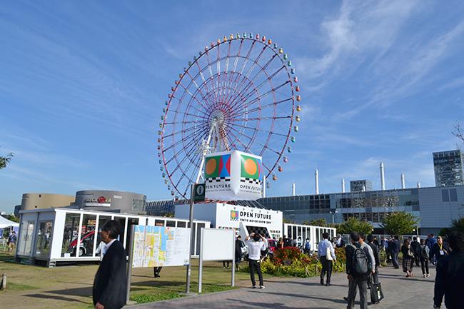 「第46回東京モーターショー2019」のテーマは「OPEN FUTURE」。未来のモビリティ社会を見せてくれるとともに、モビリティテーマパークとして体験できるモーターショーです(第46回東京モーターショー2019)