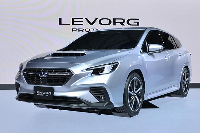 2014年に誕生したレヴォーグの第2世代モデルが世界初公開! スバルの「新型レヴォーグ プロトタイプ」(第46回東京モーターショー2019)