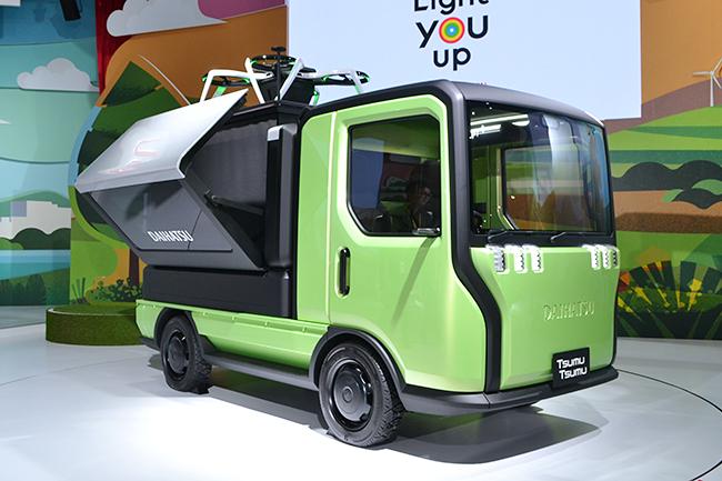 多用途に対応する次世代軽トラック、ダイハツ「TsumuTsumu(ツムツム)」(第46回東京モーターショー2019)