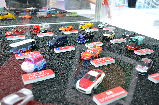 トミカは今回もモーターショーモデルを販売。こちらも人気が出そうだ(第46回東京モーターショー2019)