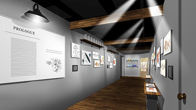 体験型エンタテインメント「さかなクンと秘密のラボ in サンシャイン水族館」が2019年11月1日(金)〜2020年1月13日(月・祝)に開催!さかなクンの描いたイラストがいっぱいの「体験型の展示空間」と、大パノラマの「海中探索VR」で楽しめる超没入型ギャラリー!