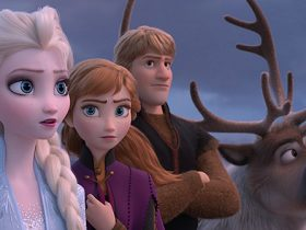 "From the Academy Award®-winning team—directors Jennifer Lee and Chris Buck, and producer Peter Del Vecho—and featuring the voices of Idina Menzel, Kristen Bell, Jonathan Groff and Josh Gad, and the music of Oscar®-winning songwriters Kristen Anderson-Lopez and Robert Lopez, Walt Disney Animation Studios' ""Frozen 2"" opens in U.S. theaters on Nov. 22, 2019.   ©2019 Disney. All Rights Reserved."