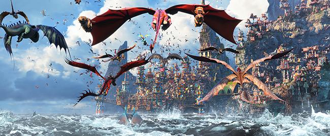世界54ヵ国でNo.1メガヒットを記録したドリームワークスの『ヒックとドラゴン』待望の最新作『ヒックとドラゴン 聖地への冒険』が2019年12月20日(金)全国公開!公開を記念して12月5日(木)開催の『ヒックとドラゴン 聖地への冒険』試写会をプレゼント!