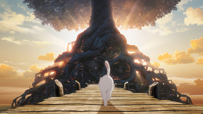 『ペンギン・ハイウェイ』で第42回日本アカデミー賞優秀アニメーション作品賞、ファンタジア国際映画祭 今敏賞(ベストアニメーション賞)を受賞し、世界中に驚きを与えたアニメーションスタジオ「スタジオコロリド」の長編アニメーション映画第2弾『泣きたい私は猫をかぶる』が2020年6月5日(金)全国公開!