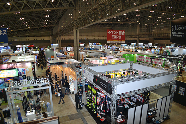 「第7回 イベント総合 EXPO」が2020年2月5日(水)~7日(金)の3日間、幕張メッセで開催!全国からイベントの企画、機材、グッズ、アトラクション機器などの企業が集まった日本最大の専門展。何かおもしろい企画はあるかなと、行ってきました!