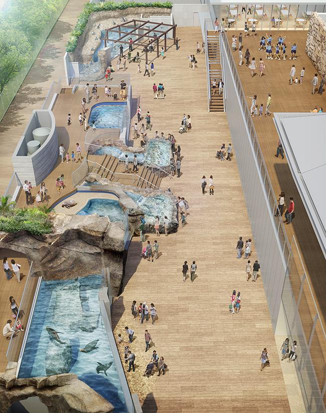 海外からも注目の四国、SETOUCHI、中でも香川県は人気。そんな四国に、子供と行きたい四国最大級の水族館「四国水族館」オープン!瀬戸大橋にほど近い香川県宇多津町のうたづ臨海公園内に立地し、四国水景をテーマとして四国各地のさまざまな水景と、そこに息づく生き物を展示。