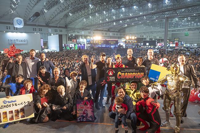 東京コミコン 2020が2020年12月4日(金)〜6日(日)オンライン+幕張メッセ無観客中継で開催!海外の有名俳優や著名アーティストとのコミュニケーション、映画で使用されたプロップの展示・撮影、コスプレイヤー同士の交流の場などを設けたポップカルチャーの祭典!